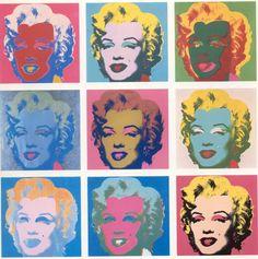 Andy Warhol - Marilyn Monroe - 1962
