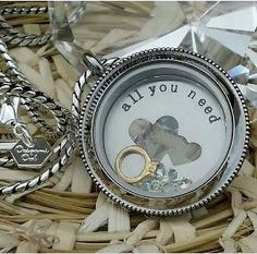 Origami Owl Silver Heirloom Twist Locket + All you need is ♥ large plate. Create your story within an Origami Owl Living Locket.