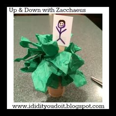 I Did It - You Do It: Up and Down with Zacchaeus http://ididityoudoit.blogspot.com/2014/02/up-and-down-with-zacchaeus.html