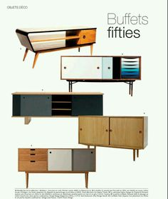 Mid-century moderrn buffets / sideboards