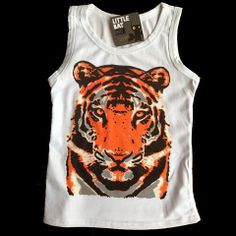 Tiger tank for wild boys. Tiger Tank, Selling Online, Little Boys, Ecommerce, Tank Man, Tank Tops, Clothes, Collection, Women