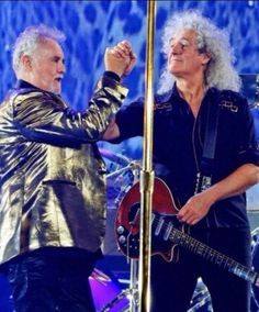 Queen hoy. Roger taylor, brian may