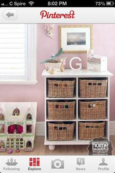 Great idea for a little girls room!