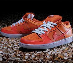 Nike SB Dunk Low – Gamma Orange / Urban Orange – Challenge Red