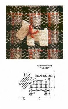 TRICO and crochet-madonna-mine: Applications to crochet (hook) Chat Crochet, Love Crochet, Crochet Flowers, Crochet Toys, Crochet Diagram, Crochet Chart, Crochet Motif, Crochet Patterns, Felt Patterns