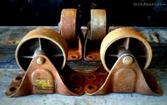 Vintage Casters - industrial - hardware - los angeles - Iron Anarchy