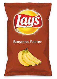 Wouldn't Bananas Foster be yummy as a chip? Lay's Do Us A Flavor is back, and the search is on for the yummiest chip idea. Create one using your favorite flavors from around the country and you could win $1 million! https://www.dousaflavor.com See Rules.