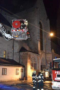 Wiener Neustadt: Brand im Wiener Neustädter Dom Fun, Fire Department, Hilarious