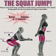 Khloe Kardashian Exercise Regimen | khloe_kardashian_squat_jump_excercise_for_weight_loss.jpg