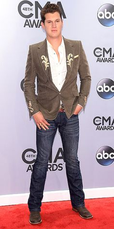 Jon Pardi at the 2014 Country Music Artists, Country Singers, Country Guys, Country Living, Head Over Boots, Jon Pardi, Cma Awards, Man Crush, New Music