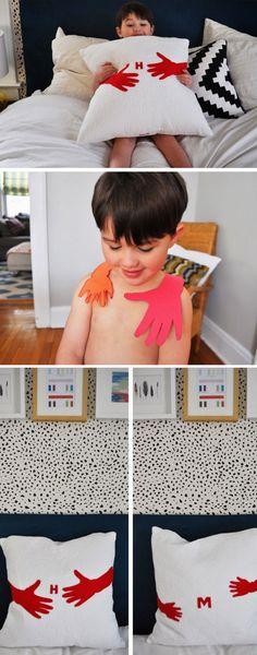 Hug Pillow   25+ DIY Christmas Gifts for Dads & Grandfathers