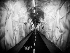 Bike tunnel in San Sebastian by cozmo  RE-PIN-IT!  #cyclingWithChildren #bicycle #cycling #bike #cardoBK1 #cardosystems
