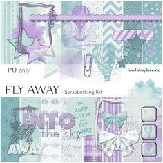"FREEBIE - Scrapbooking Kit: ""Fly Away"""