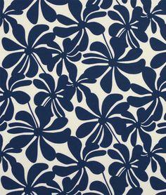 Premier Prints Outdoor Twirly Deep Blue Fabric 8.98 per yard