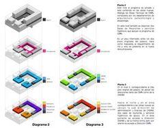 Mención Concurso Puesta en Valor y Renovación del Monumento Nacional Palacio Pereira / Tidy Arquitectos + NKZ,esquemas plantas 1 y 2