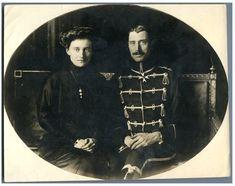 Danemark, King Christian and Queen Alexandra     #Les_années_1900_à_1940_ #Personnalités