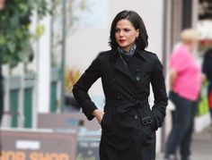 Lana Parrilla on the set - 4 * 10 Behind the scenes. 22 October 2014