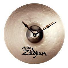 Zildjian Cymbal Clock by Zildjian, http://www.amazon.com/dp/B0002D0PLY/ref=cm_sw_r_pi_dp_D4earb1J37P0X