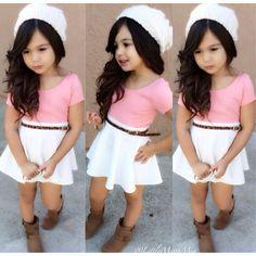 Me hubiera encantado vestirme así cuando era niña.