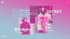 Jessica Hägg – Interactive Designer › Spotify – Year in Music