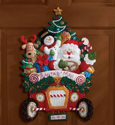 Bucilla ® Seasonal - Felt - Home Decor Kits --- i think i just found something to keep me busy :)