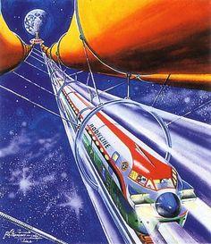 INFO: Sci-fi illustrations by Shigeru Komatsuzaki