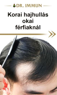 A DHT-ra érzékeny személyeknél 20 éves kortól a halántékon és homloknál található szőrtüszők el kezdenek sorvadni, a hajszálak életének növekedési szakasza lerövidül. Rövidebb és vékonyabb hajszálak kezdenek el nőni. Fokozatosan leáll a hajhagymák működése, a fejbőre vékonyabbá és fényessé válik. A szőrüszők kivezető nyílásai eltűnnek. Ranges
