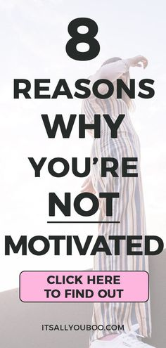 Have you lost your motivation? Here are 8 motivation killers you need to know about and how to fix them. Finding Motivation, Self Motivation, How To Find Motivation, Working On Me, How To Get Motivated, How To Stop Procrastinating, Do Homework, Growth Mindset, Self Development