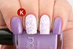 OPI Do You Lilac It? with Lilac Stamping using MoYou Nails