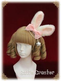 Sweet Dreamer~Bugs Bunny~ Rabbit Ear Shaped Lolita Hairclip