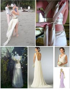 homemade wedding dress
