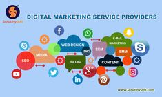 Scrutinysoft provides you the best Digital Marketing services. We help you drive Higher traffic to your Website, Build your brand, Increase sales & grow your business rapidly. Best Seo Services, Digital Marketing Services, Online Marketing, Social Media Marketing, Marketing Channel, Increase Sales, Build Your Brand, Growing Your Business, Web Design