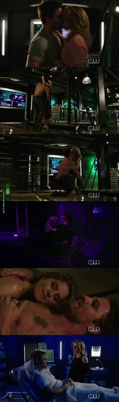 """#Arrow 5x20 """"Underneath"""" - Oliver and Felicity"""