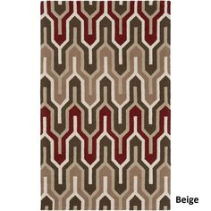 Hand-Tufted Antonio Wool Rug (8' x 10')