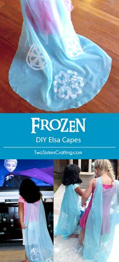 Detailed directions for making No-Sew DIY Elsa Capes for party favors at a Frozen Birthday Party. These adorable capes were the hit of our Frozen Party. Elsa Birthday Party, Frozen Themed Birthday Party, Disney Frozen Birthday, Frozen Birthday Party, Birthday Crafts, 4th Birthday Parties, Girl Birthday, Turtle Birthday, Turtle Party