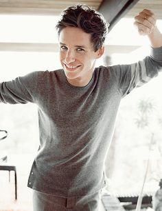 Eddie takes our breath away when he smiles