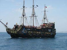 Tocht met Piratenboot, Hammamet