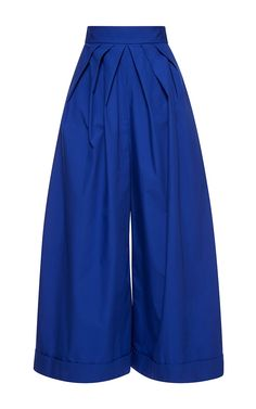 Wide Legged Pleated Trousers by DELPOZO Now Available on Moda Operandi