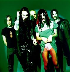 Marilyn Manson & The Spooky Kids #MM #MarilynManson #music #bands