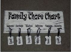 activities for kids Chore Charts photo