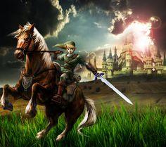 Link and Epona by ~Keidranx on deviantART