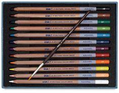 Bruynzeel Aquarel Pencils, Set of 12