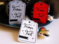"""9+Geschenkanhänger+""""Frohes+Fest""""+von+Schnuckidu+auf+DaWanda.com Phone Cases, Etsy, Weihnachten, Gifts, Ideas"""