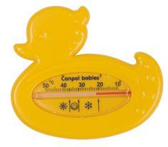 Thermomètre de bain- canard jaune- Canpol babies- Bébé Petit Pom