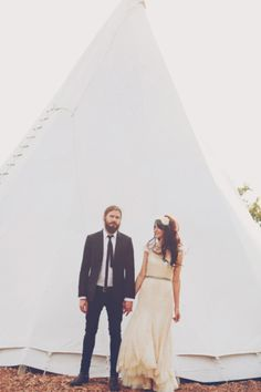 cutest! wedding teepee. (bleubird vintage)