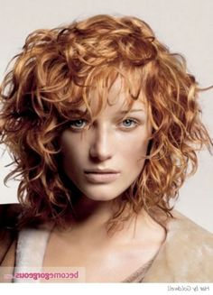 Shoulder Length Curly Hairstyles as Your Choice   HairJos.com
