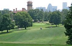 Baltimore Municipal Golf Corporation - Clifton Park 18th hole