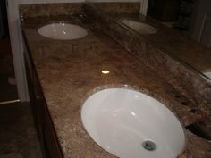 Faux Granite counter-tops for less than 25 Bucks!