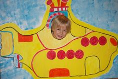 The Beatles Yellow Submarine (budget friendly) party: yellow sub party ...