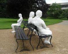 George Segal, the artist. Modern Art Sculpture, Garden Sculpture, George Segal, Still Life Artists, Cast Art, Art Students, Art Club, Public Art, Contemporary Artists